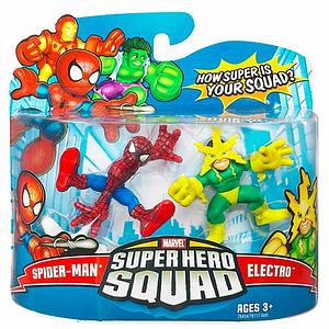"Marvel Super Hero Squad 2"" 2-Pack: Spider-Man & Electro"