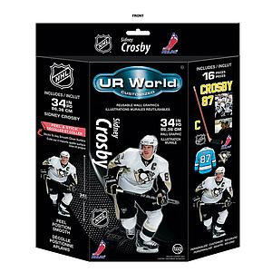 UR World Customized Wall Decals: Sidney Crosby