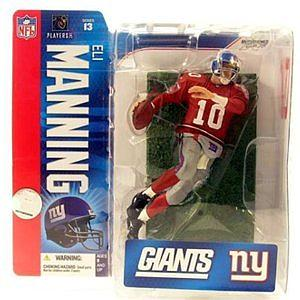 NFL Sportspicks Series 13: Eli Manning (New York Giants) [Red]