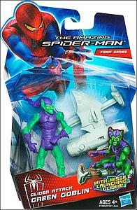 The Amazing Spider-Man 3 3/4 Inch Action FIgure: Glider Attack Green Goblin