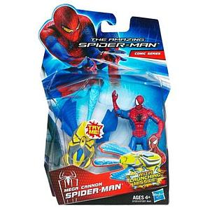 "The Amazing Spider-Man 3 3/4"" Action FIgure: Mega Cannon Spider-Man"