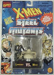 Toybiz X-Men Steel Mutants 2-Packs: Longshot vs. Mojo