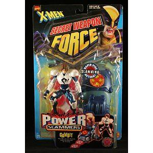 Toybiz X-Men Secret Weapon Force: Gambit (Power Slammers)