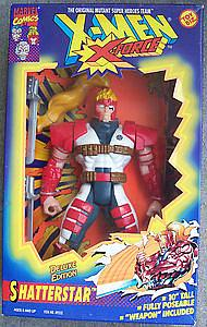 "Toybiz X-Men X-Force Deluxe Edition 10"": Shatterstar"