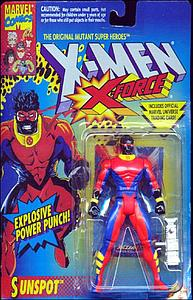 Toybiz X-Men X-Force: Sunspot