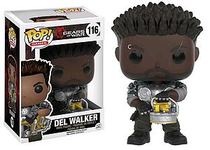 Pop! Games Gears of War Vinyl Figure Del Walker #116