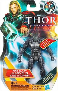 Marvel Thor Movie: Fire Blast Marvel's Destroyer