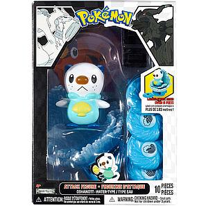 Pokemon Black White Series 1 Attack Figure: Oshawott