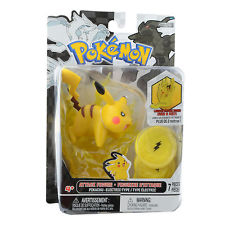 Pokemon Black & White Series 1 Attack Figure: Pikachu (7-Pieces)