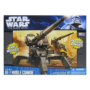 Star Wars The Clone Wars Battle: Republic AV-7 Mobile Cannon