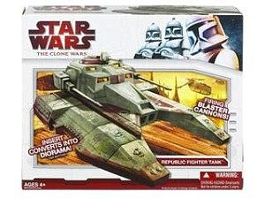 Star Wars The Clone Wars Vehicles: Republic Fighter Tank (Canadian Packaging)