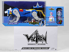 Mattel Voltron Lion Force Classics Exclusive Series: Blue Lion & Princess Allura