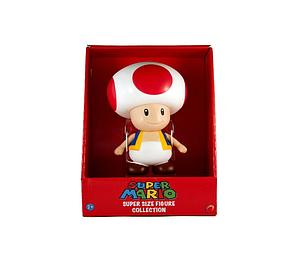 Global Holdings Super Mario Bros Super Size Vinyl Figure: Toad