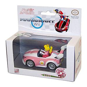Spin Master Mario Kart Pull and Speed Car: Peach Royale