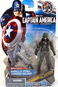 Captain America The First Avenger Hydra Armoured Soldier (w/ Black Gloves)