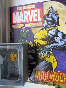 Classic Marvel Figurine Collection Issue #108: Man-Wolf