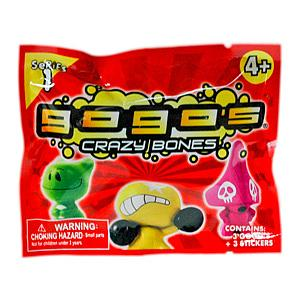 Gogo's Crazy Bones Series 1: 3-Pack