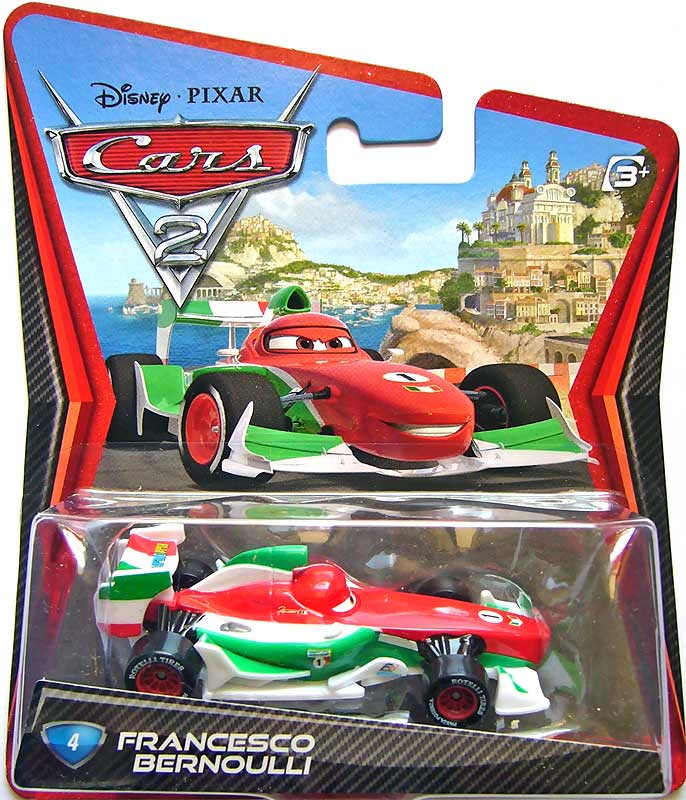 Finn Mcmissile Giocattolo Mattel Disney 1 55 Cars Auto: Mattel Disney Cars Die-Cast 1:55 Scale Toy: Francesco