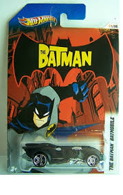 Hot Wheels The Batman Die-Cast Cars: The Batmobile (1/8)