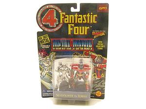 Toybiz Marvel Fantastic Four Die-Cast Metal Mania: Silver Surfer vs. Terrax