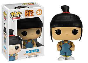 Pop! Movies Despicable Me Vinyl Figure Agnes #34 (Vaulted)