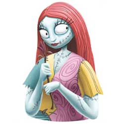 Nightmare Before Christmas Bust Bank: Sally