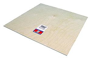 Birch Craft Plywood 3/8x6x12 [3 Pack] (5324)