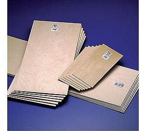 Birch Aircraft Grade Plywood 1/64x6x12 [6 Pack] (5120)