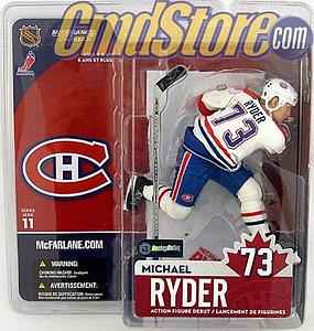 NHL Sportspicks Series 11 Michael Ryder (Montreal Canadiens) White Jersey Variant