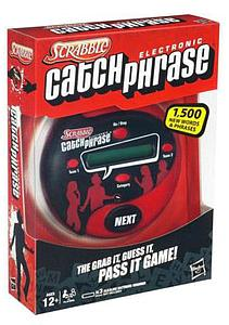 Scrabble Electronic Catchphrase
