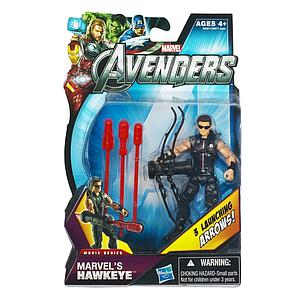 Marvel Universe Avengers Movie 4 Inch: Marvel's Hawkeye (Sunglasses) [Triple Arrows]