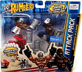 WWE Wrestling Rumblers Exclusive 2-Pack: Rey Mysterio vs. R-Truth