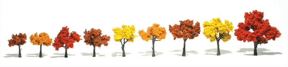 "1 1/4-3"" Fall Mix Ready Made Trees [9 Pack] (1540)"