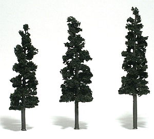 "6-7"" Conifer Green Pines [3 Pack] (1562)"