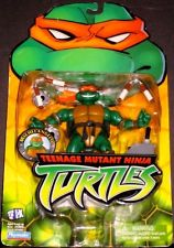 Playmates 2003 Teenage Mutant Ninja Turtles: Michelangelo (Canadian Packaging)