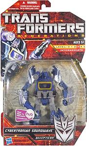 Transformers Generations Series Deluxe Class Cybertronian Soundwave