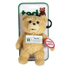 "Ted 3"" Talking Backpack Plush: R-Rated"