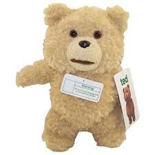 Ted 8 Inch Talking Plush Doll: Clean