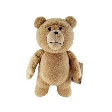 Ted 16 Inch Talking Plush Doll: Clean Moving Mouth