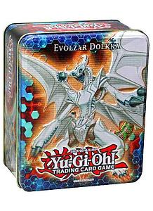 YuGiOh Trading Card Game Holiday Collector Tins Wave 1: Evolzar Dolkka