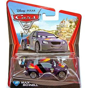 Mattel Disney Cars Die-Cast 1:55 Scale Toy: Max Schnell #21