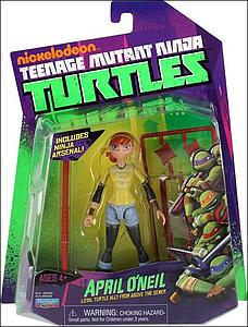 Nickelodeon Playmates Teenage Mutant Ninja Turtles: April O'Neil (US Packaging)