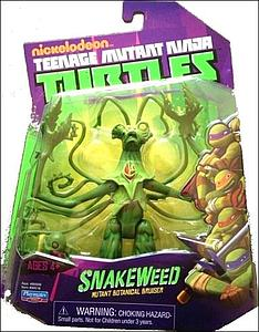 Nickelodeon Playmates Teenage Mutant Ninja Turtles: Snakeweed (US Packaging)