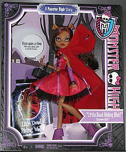 Mattel Monster High Scary Tales Story Exclusive Deluxe Doll: Little Dead Riding Wolf