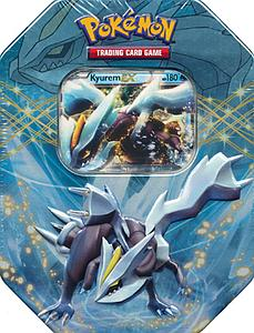 Pokemon Trading Card Game Black & White Spring 2012 EX Collector's Tins: Kyurem