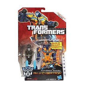 Transformers Generations Fall of Cybertron Deluxe Class: Autobot Whirl (1 of 5 Ruination)