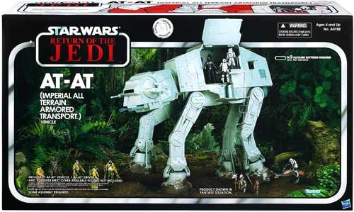 Star Wars Return of the Jedi AT-AT Vehicle: Imperial All Terrain Armored Transport (Exclusive)