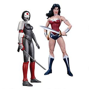 DC Collectibles The New 52 2-Packs: Wonder Woman vs. Katana