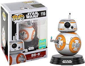 Pop! Star Wars The Force Awakens Vinyl Bobble-Head BB-8 (Thumbs Up) #116 2016 Summer Convention Exclusive