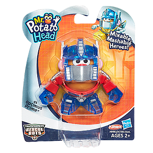 Mr. Potato Head Mixable Mashable Heroes: Optimus Prime